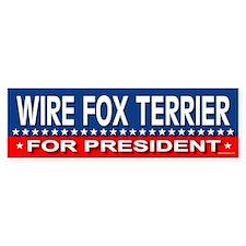 WIRE FOX TERRIER Bumper Bumper Stickers