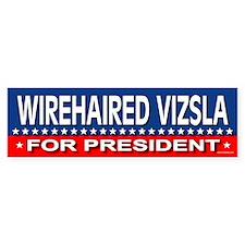 WIREHAIRED VIZSLA Bumper Bumper Sticker