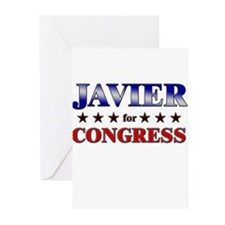 JAVIER for congress Greeting Cards (Pk of 20)