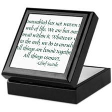 Web Of Life Keepsake Box