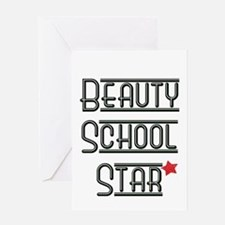 Beauty School Star Greeting Card