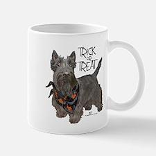 Scottie Dog Trick or Treat Mug