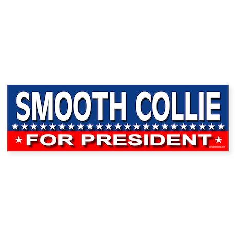 SMOOTH COLLIE Bumper Sticker
