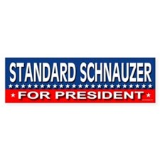 STANDARD SCHNAUZER Bumper Bumper Sticker