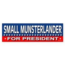 SMALL MUNSTERLANDER Bumper Bumper Sticker