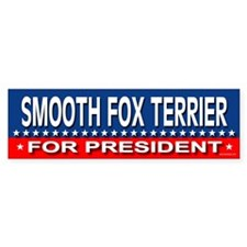 SMOOTH FOX TERRIER Bumper Bumper Sticker