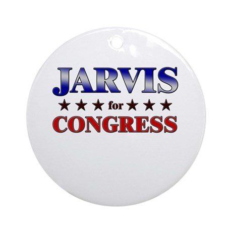 JARVIS for congress Ornament (Round)