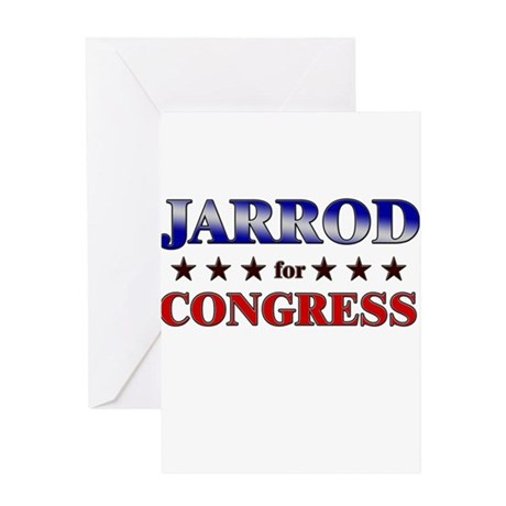 JARROD for congress Greeting Card