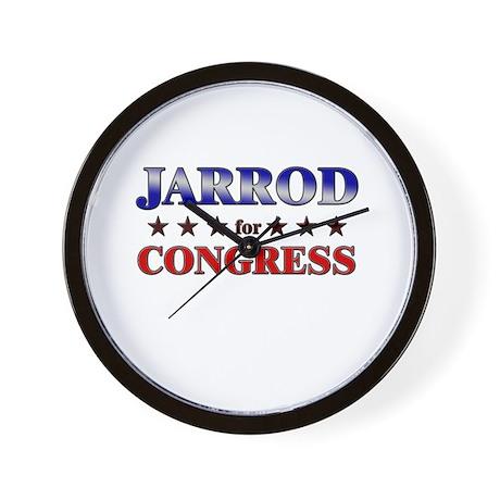 JARROD for congress Wall Clock