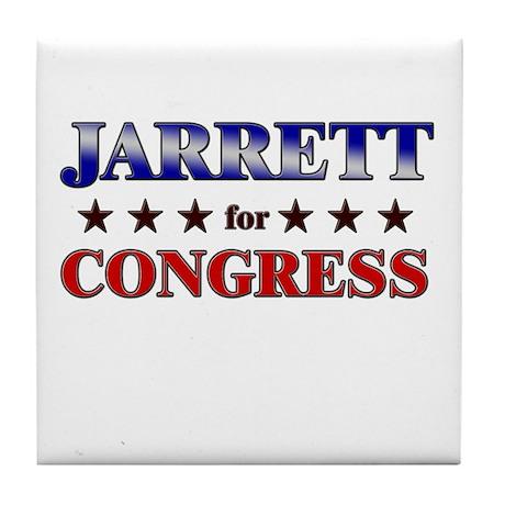 JARRETT for congress Tile Coaster