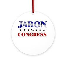 JARON for congress Ornament (Round)