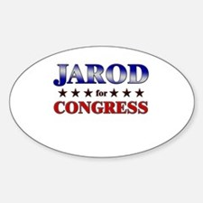 JAROD for congress Oval Decal