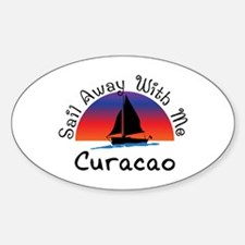 Sail Away with me Curacao. Decal