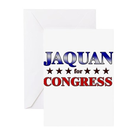 JAQUAN for congress Greeting Cards (Pk of 20)