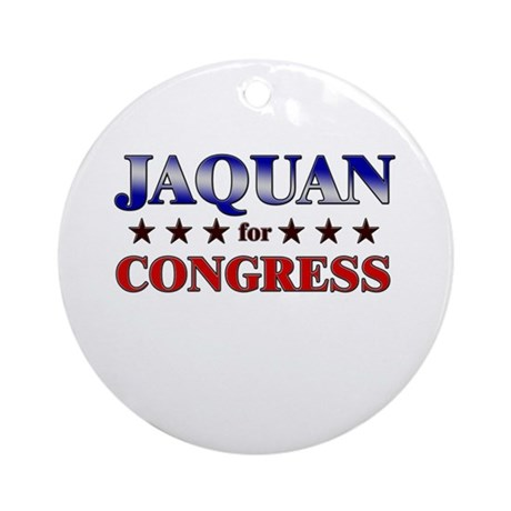 JAQUAN for congress Ornament (Round)