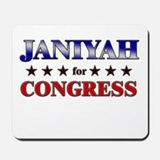 JANIYAH for congress Mousepad