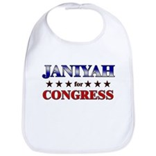 JANIYAH for congress Bib