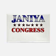 JANIYA for congress Rectangle Magnet