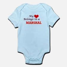 My heart belongs to a Marshal Body Suit
