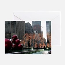 New York City Decorations Greeting Card