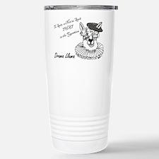 Cute Drama llama Travel Mug