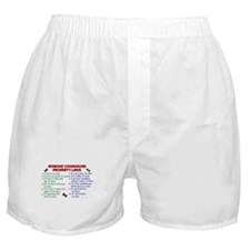 Redbone Coonhound Property Laws 2 Boxer Shorts