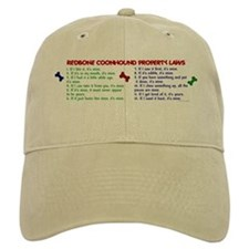 Redbone Coonhound Property Laws 2 Baseball Cap