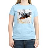 Dachshund naptime Women's Light T-Shirt
