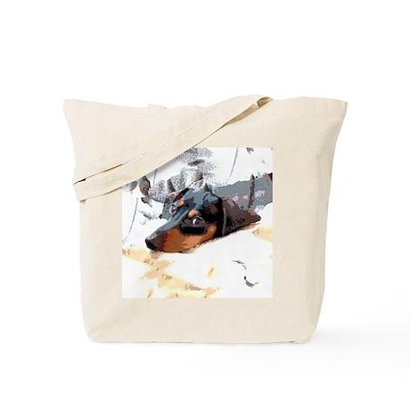 Naptime Alone Dachshund Tote Bag