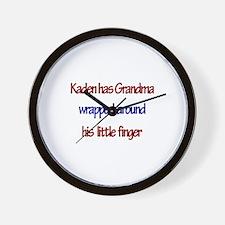 Kaden - Grandma Wrapped Aroun Wall Clock