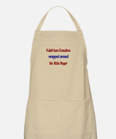 Kaleb - Grandma Wrapped Aroun BBQ Apron