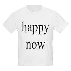 271.happy now Kids T-Shirt