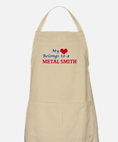 My heart belongs to a Metal Smith Apron