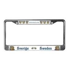 Cool Scandinavia License Plate Frame