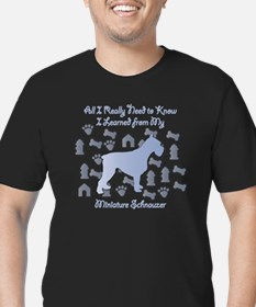 Learned Schnauzer T-Shirt