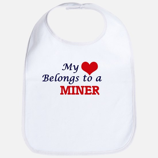 My heart belongs to a Miner Bib