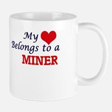 My heart belongs to a Miner Mugs