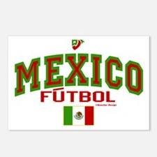Mexico Futbol/Soccer Postcards (Package of 8)