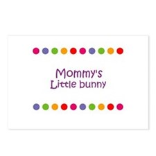 Mommy's Little bunny Postcards (Package of 8)
