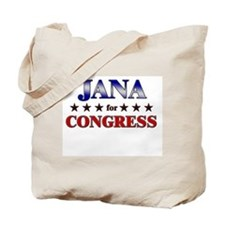 JANA for congress Tote Bag