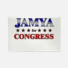 JAMYA for congress Rectangle Magnet