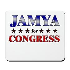 JAMYA for congress Mousepad