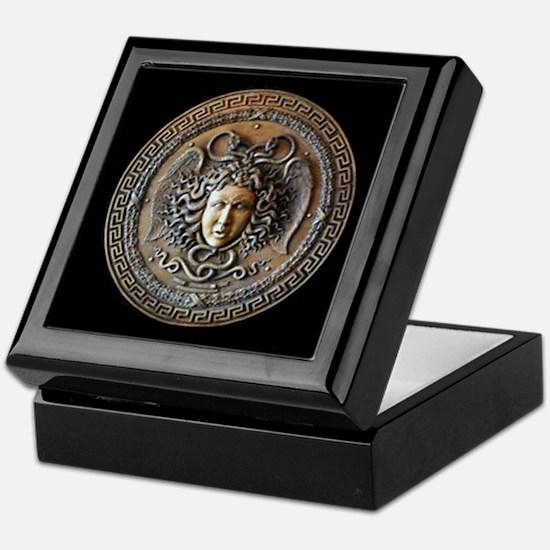 Athena Shield Of Medusa Keepsake Box