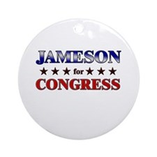 JAMESON for congress Ornament (Round)
