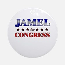 JAMEL for congress Ornament (Round)