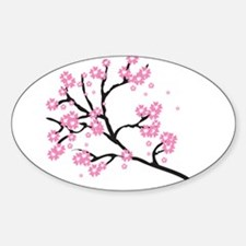 Cherry Blossom Asia Decal