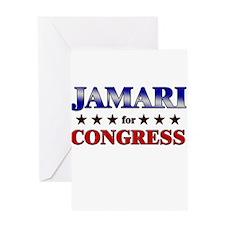 JAMARI for congress Greeting Card