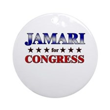 JAMARI for congress Ornament (Round)