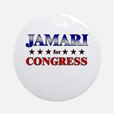 JAMARI for congress Ornament (Round)