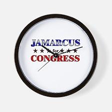 JAMARCUS for congress Wall Clock